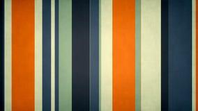 Lazo video texturizado dinámico multicolor Paperlike del fondo de las barras de colores de //4k 60fps de las rayas 45 libre illustration