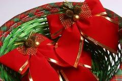 Lazos de la Navidad fotografía de archivo