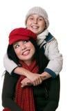 Lazos parentales felices de Nuturing Fotos de archivo libres de regalías
