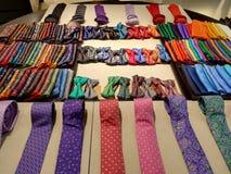 Lazos y corbatas de lazo fotografía de archivo