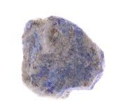 Lazulite de lapis minérale Photo libre de droits
