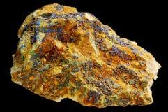 lazurite矿物 免版税库存照片