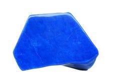 Lazurite изолировало на белизне стоковое изображение rf