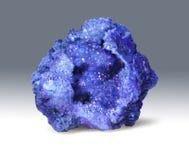 Lazurite - dekorativ sten för gnistrandegeod royaltyfria bilder