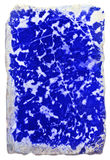 Lazurite. The lapis lazuli (lazurite), isolated Royalty Free Stock Images