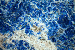 Lazurite mineral background Royalty Free Stock Images