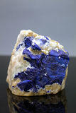 Lazurite Specimen. Very Rare Blue Lazurite Specimen From Badakhshan Afghanistan Royalty Free Stock Photography