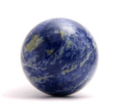 Lazurite sphere Stock Images