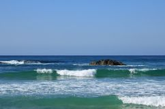 Lazurowy błękitny pokojowy zdjęcie stock