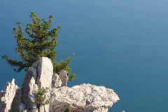 lazurowy morze Zdjęcia Stock