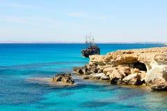 lazurowy morze Fotografia Royalty Free