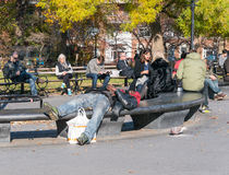 Lazy afternoon in Manhattan Royalty Free Stock Photo