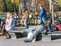 Lazy afternoon in Manhattan Stock Photography