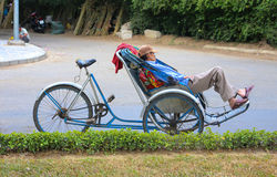 Lazy days in Vietnam Stock Image