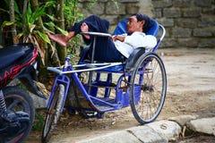 Lazy days in Vietnam Stock Photos