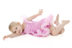 Lazy Little Dancer Royalty Free Stock Photography