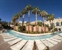 Lazy River at Mandalay Bay Hotel and Casino Resort Royalty Free Stock Photography