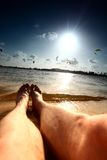 Lazy vacation Royalty Free Stock Images