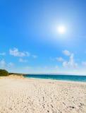 Lazzaretto beach under a bright sun Royalty Free Stock Image