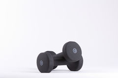 10 lb веса на белой предпосылке Стоковое Изображение RF
