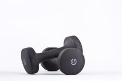 10 lb weights Royalty Free Stock Photos