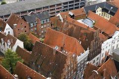 Lübeck-Ansicht Lizenzfreie Stockfotos