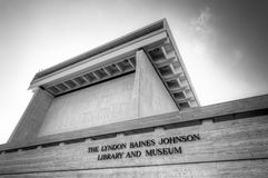 LBJ图书馆 免版税库存图片