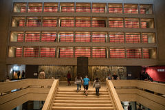 LBJ总统图书馆 免版税库存照片