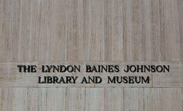LBJ biblioteka zdjęcie royalty free