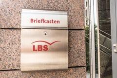LBS mailbox Stock Photo