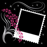 Álbum de foto de la disposición de paginación Fotos de archivo libres de regalías