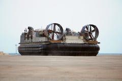 lcac海军s u 库存图片