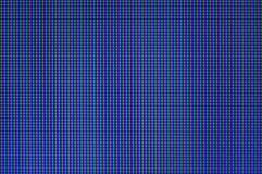 LCD屏幕宏观照片  免版税图库摄影