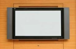 lcd屏幕电视 库存图片