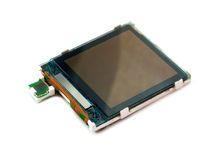 LCD显示。 免版税图库摄影