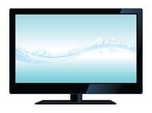 lcd电视向量 图库摄影
