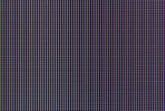 LCD电视矩阵宏观射击  免版税库存图片