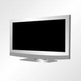 lcd电视 库存例证
