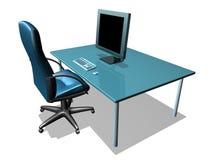 lcd监控程序办公室 免版税库存照片