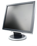 lcd监控程序 库存照片