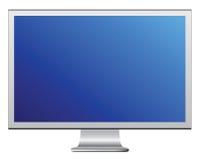 lcd监控程序 向量例证