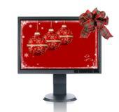 LCD überwachen Geschenk stockfotografie
