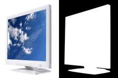 Lcd-Überwachungsgerät Lizenzfreie Stockbilder