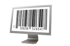 Lcd-Überwachungsgerät stockfotos