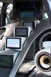 Lcd-Überwachungsgeräte Stockbild