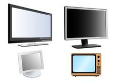 Lcd-Überwachungsgeräte Lizenzfreie Stockfotografie