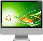 LCD. Royalty Free Stock Photography