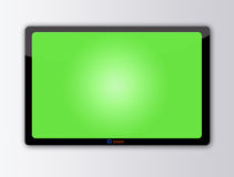 Lcd. TV screen, ready for advertising Stock Image