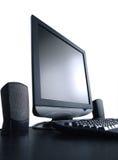 Lcd-Bildschirm mit Lizenzfreies Stockfoto