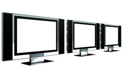 LCD-Bildschirm-Modell Stockbild
